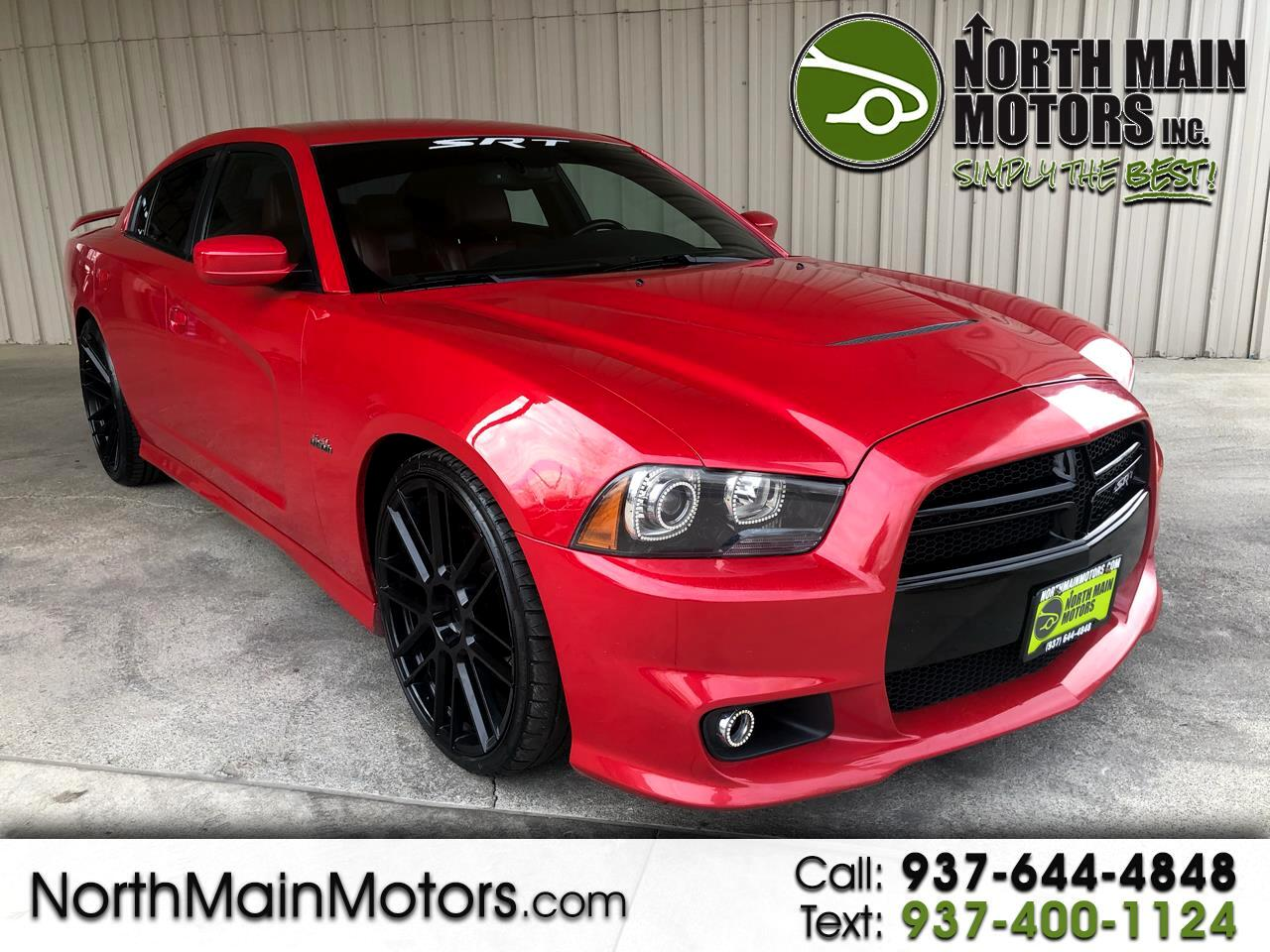 Dodge Charger 4dr Sdn SRT8 RWD 2012