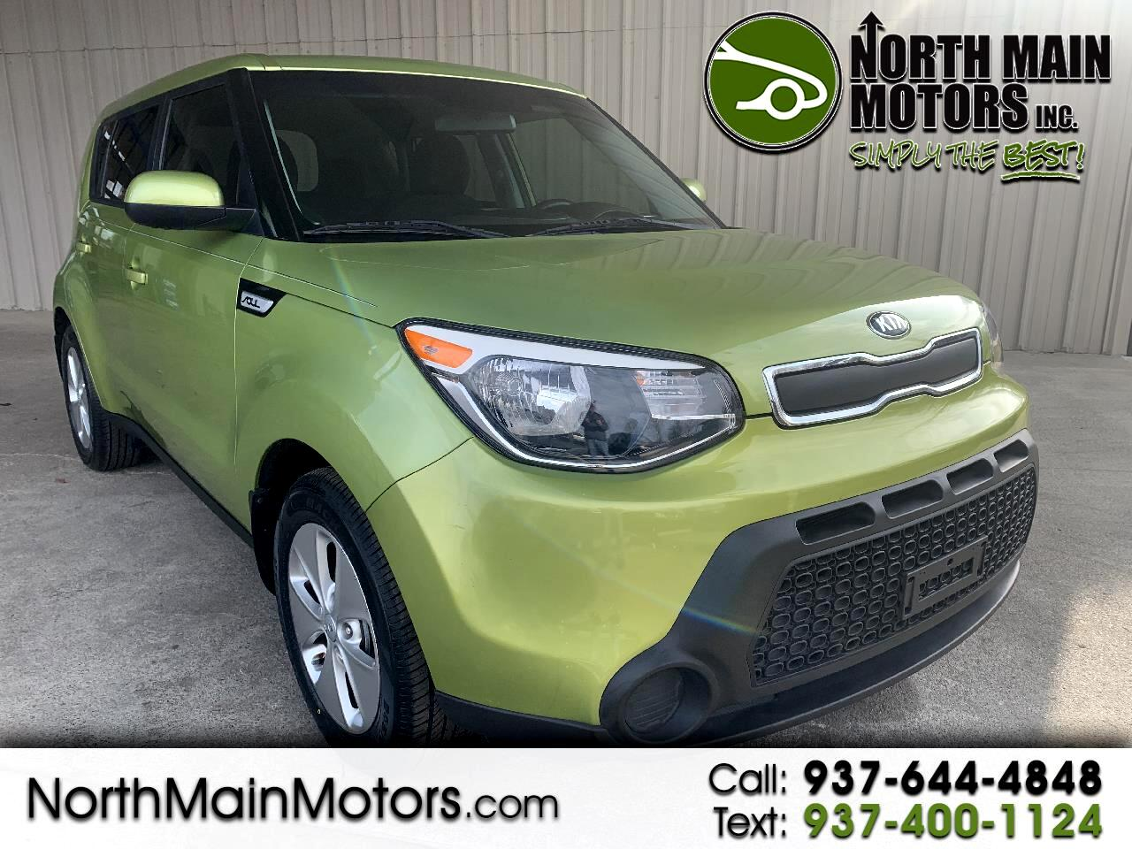 Kia Soul 5dr Wgn Man Base 2016