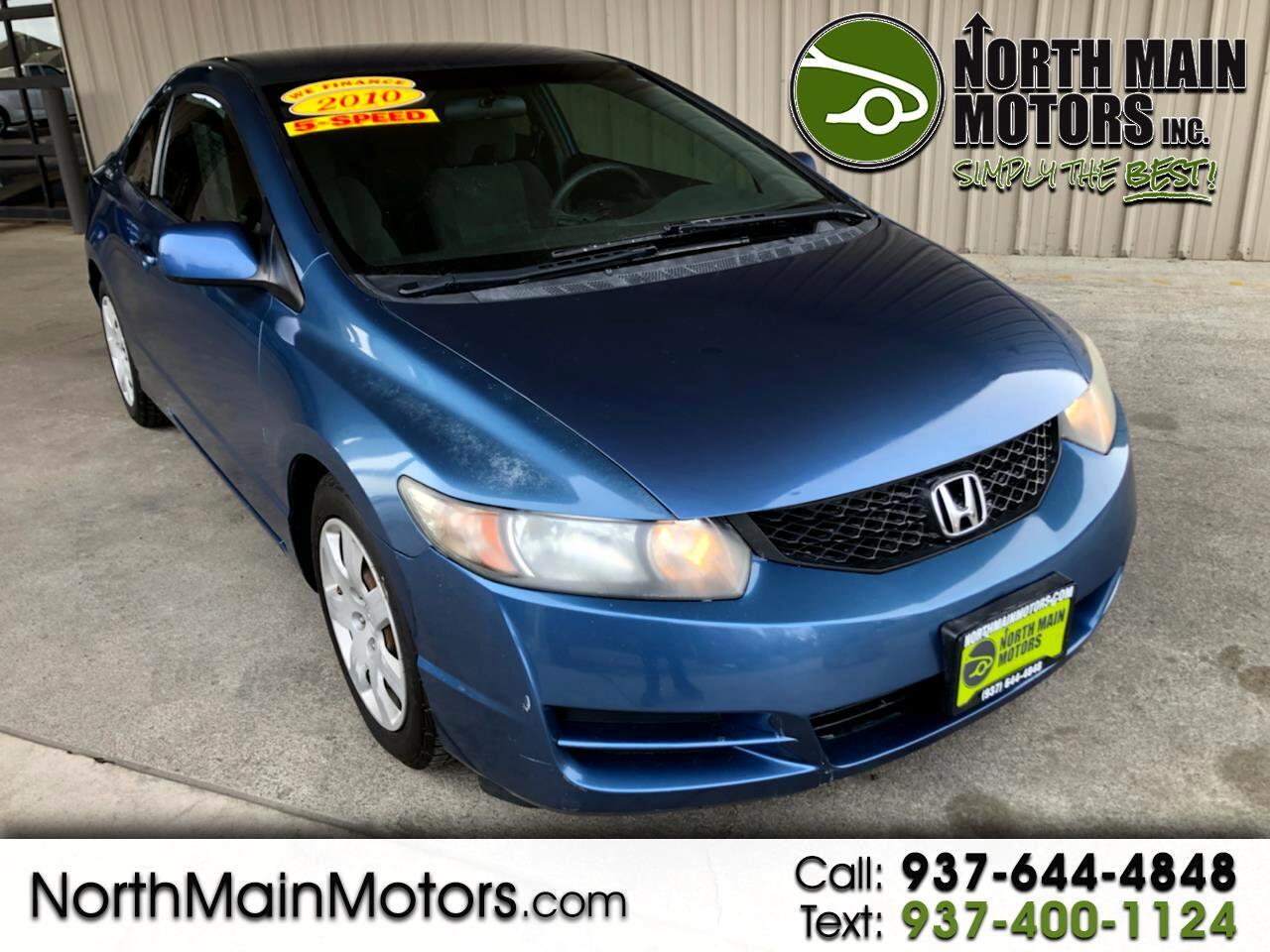 Honda Civic Cpe 2dr Man LX 2010