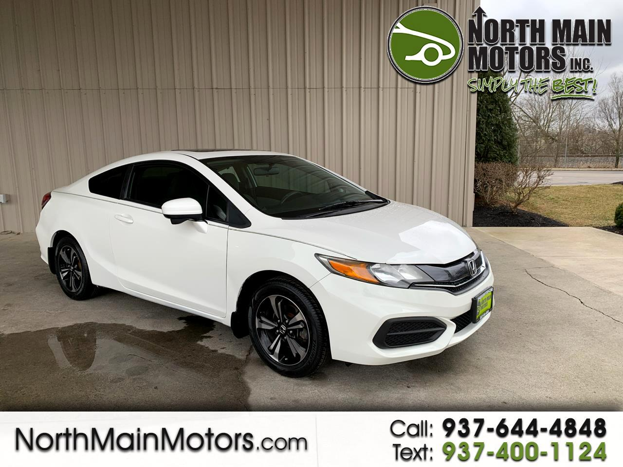 Honda Civic Coupe 2dr CVT EX 2015