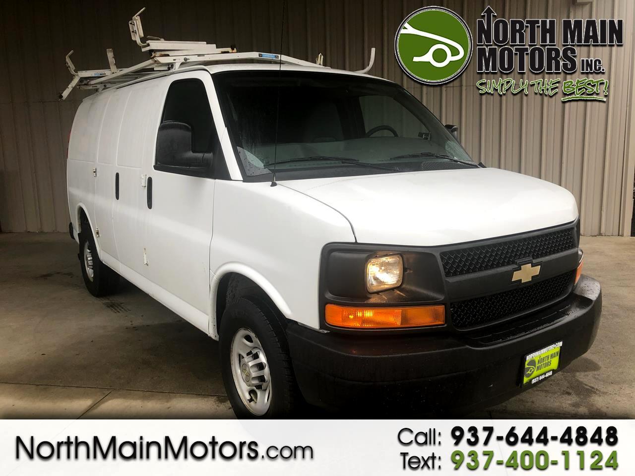 """Chevrolet Express Cargo Van RWD 2500 135"""" 2013"""
