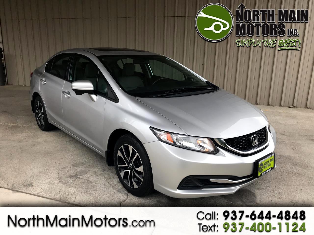 Honda Civic EX Sedan CVT 2015