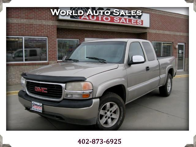 2002 GMC Sierra 1500 SL Ext. Cab Short Bed 4WD