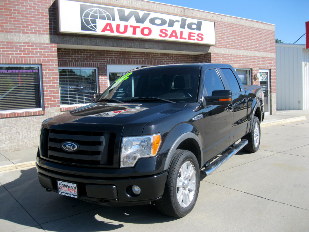 2010 Ford F-150 FX4 SuperCrew Short Box