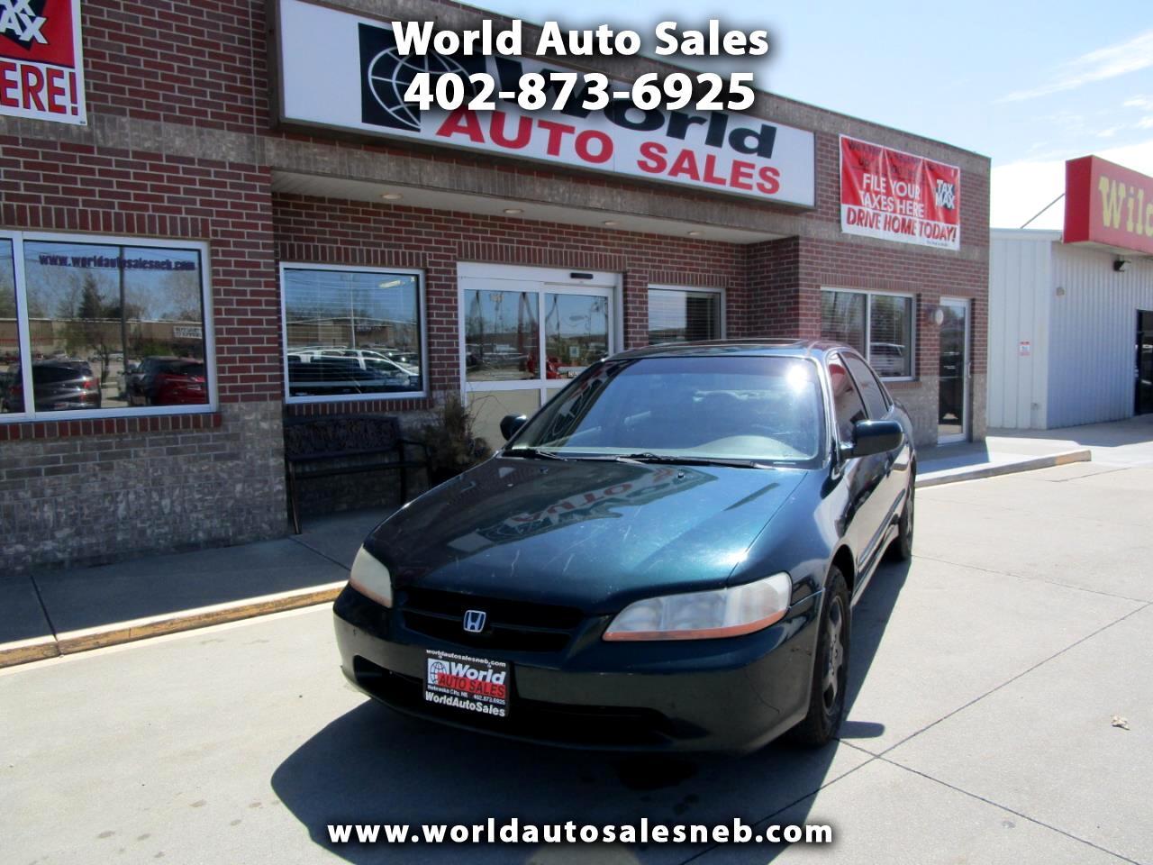 Honda Accord Sdn 4dr Sdn EX Auto V6 W/Leather 2000