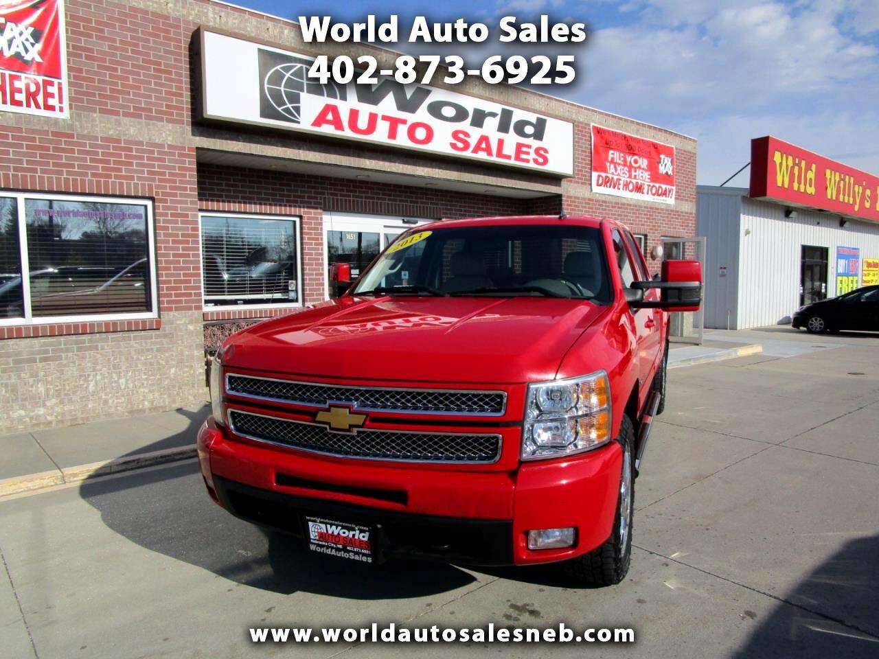 """Chevrolet Silverado 1500 4WD Crew Cab 143.5"""" LTZ 2013"""