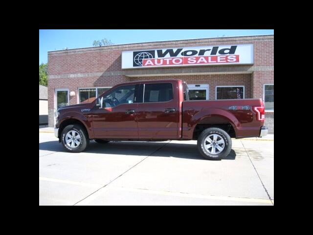 2017 Ford F-150 XLT 4WD SuperCrew SB V8 5.0