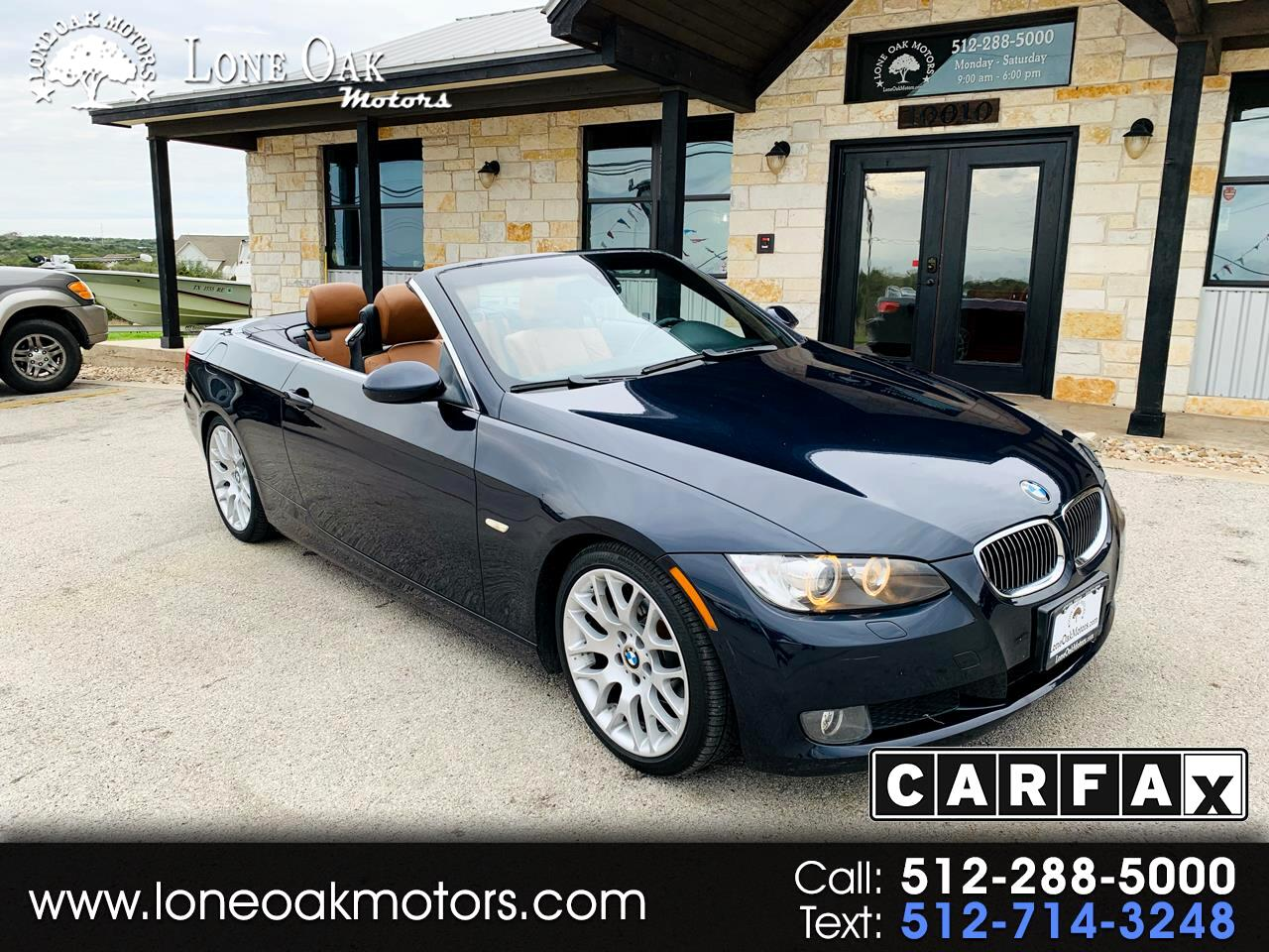 2008 BMW 3-Series 2dr Conv 328i