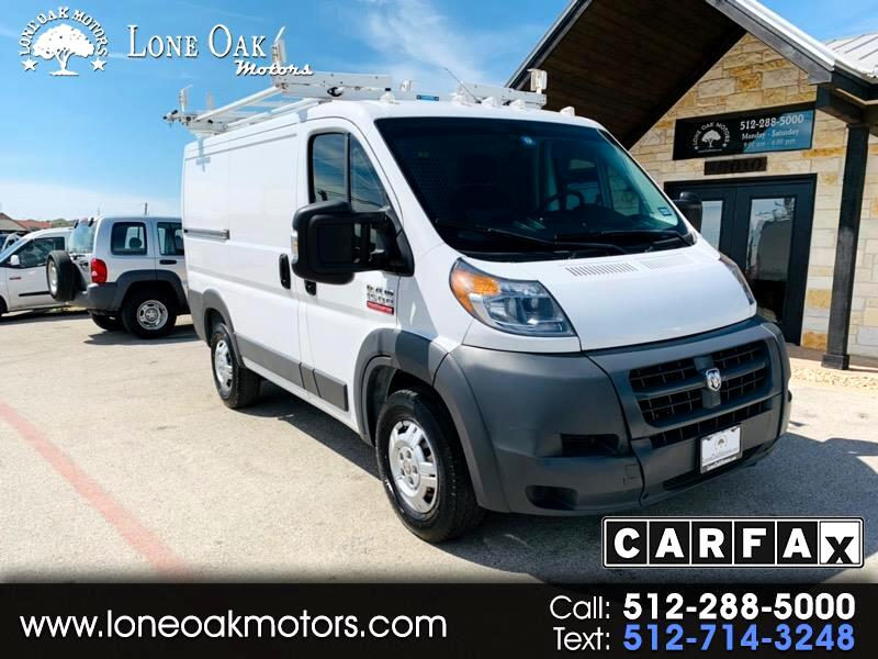 """2016 RAM Promaster 1500 Low Roof 118"""" WB"""