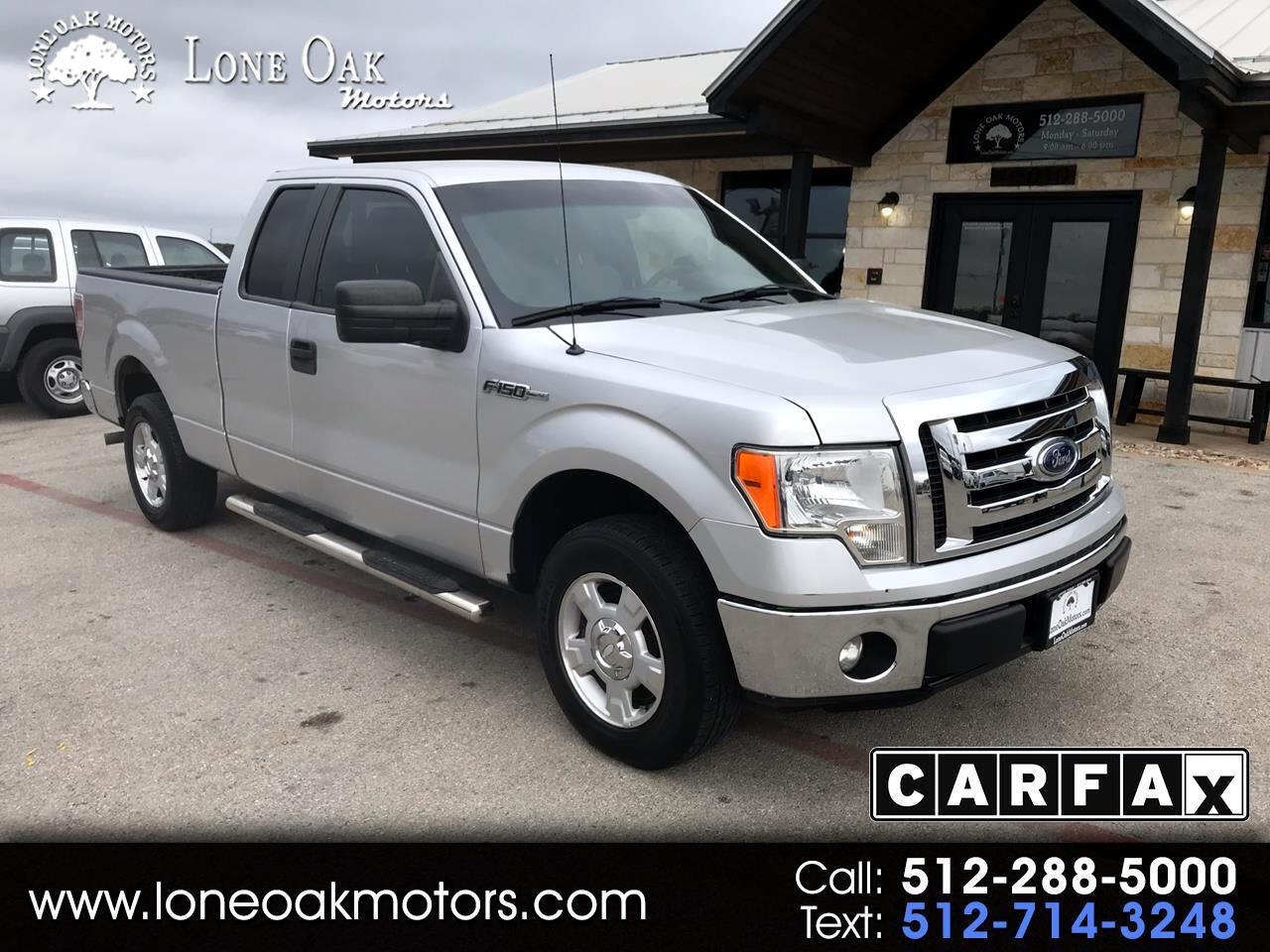 "Ford F-150 2WD SuperCab 145"" XLT 2011"