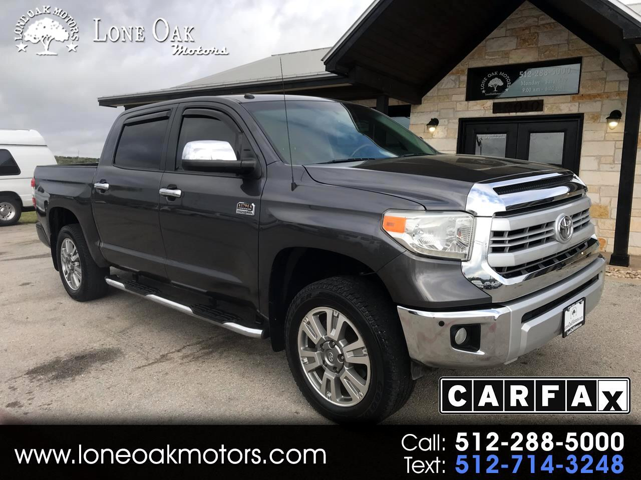 2014 Toyota Tundra 2WD Truck CrewMax 5.7L V8 6-Spd AT 1794 (Natl)