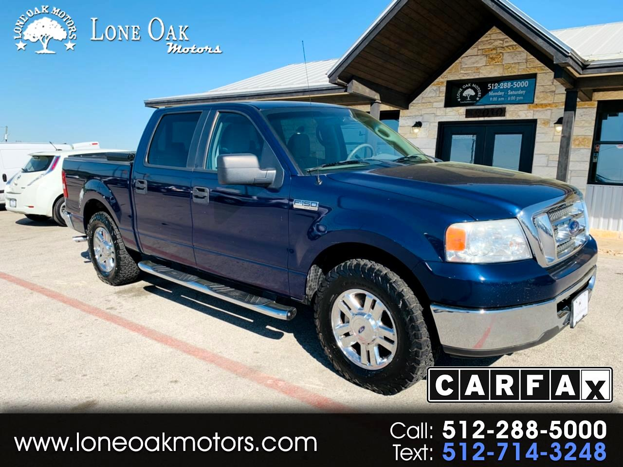 """2007 Ford F-150 2WD SuperCrew 139"""" FX2"""