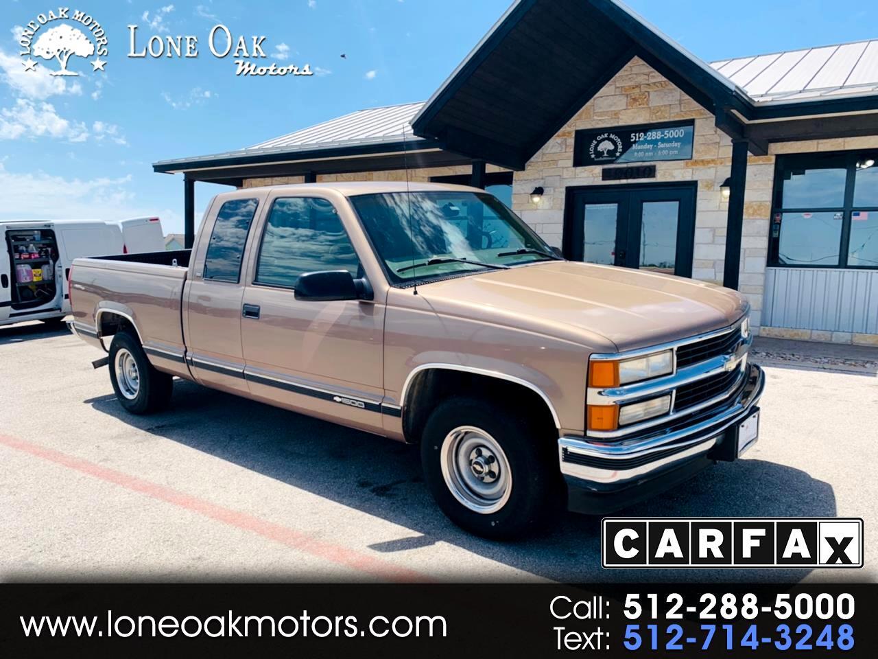 "1997 Chevrolet C/K 1500 Ext Cab 141.5"" WB"