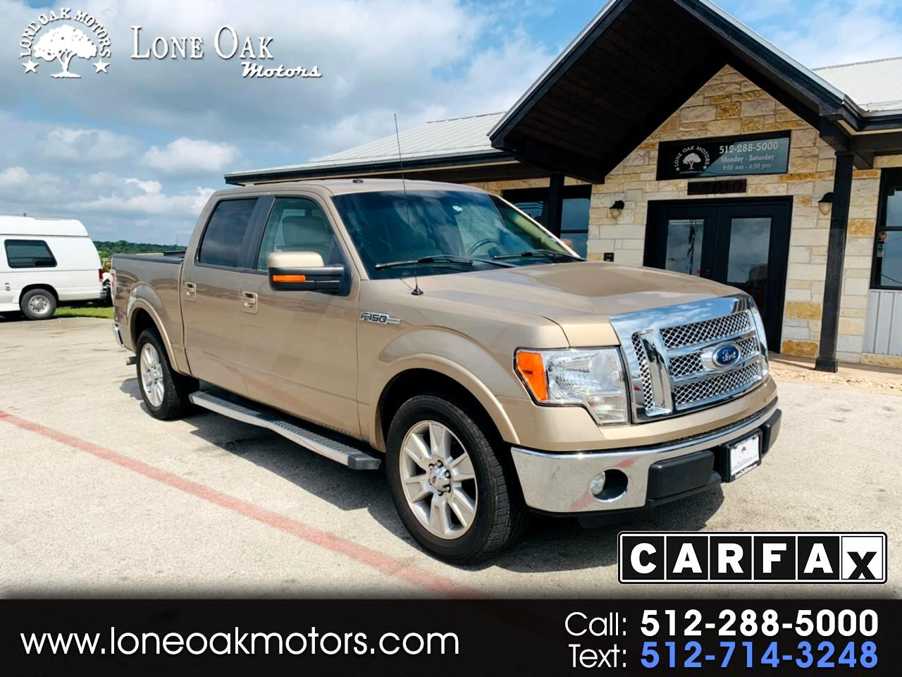 2012 Ford F-150 Lariat 2WD SuperCrew 5.5' Box