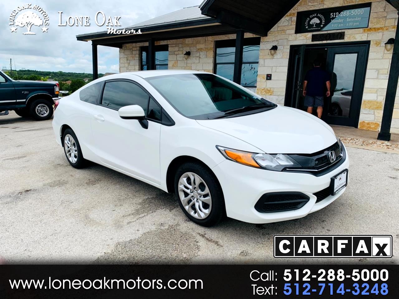 2015 Honda Civic Coupe 2dr CVT LX
