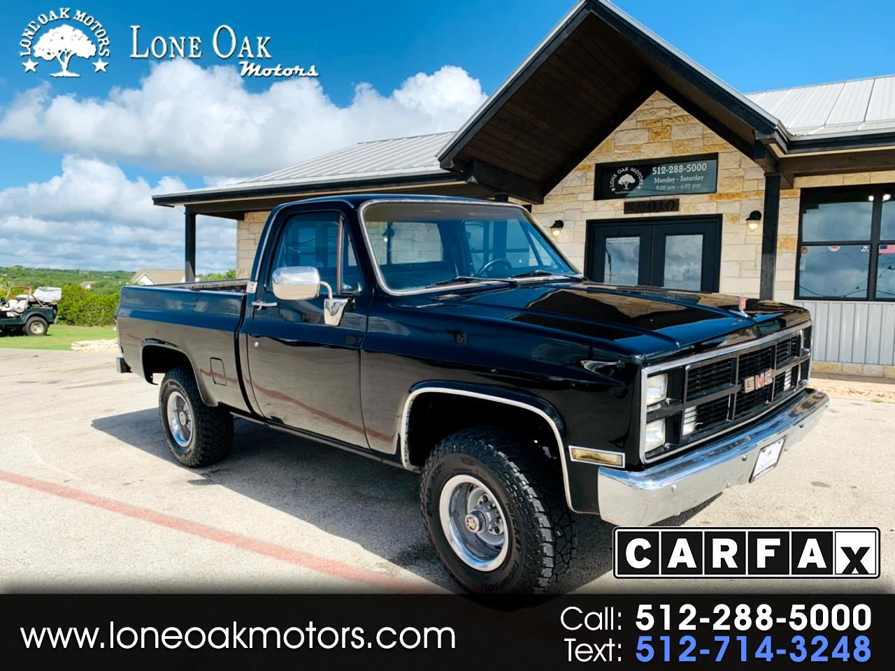 "1984 GMC 1/2 Ton Pickups Fleetside 117.5"" 4WD"