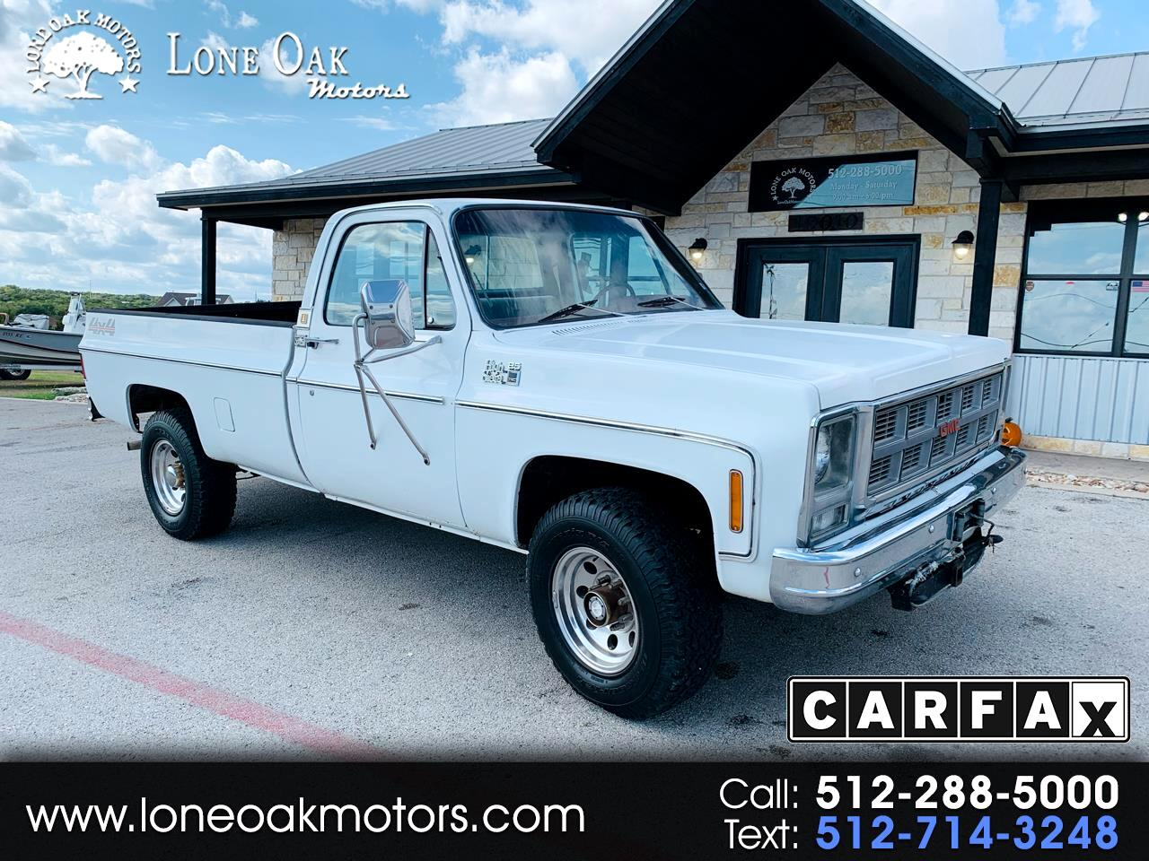 "1978 GMC 2500 Pickups HD Reg Cab 131.5"" 4WD"