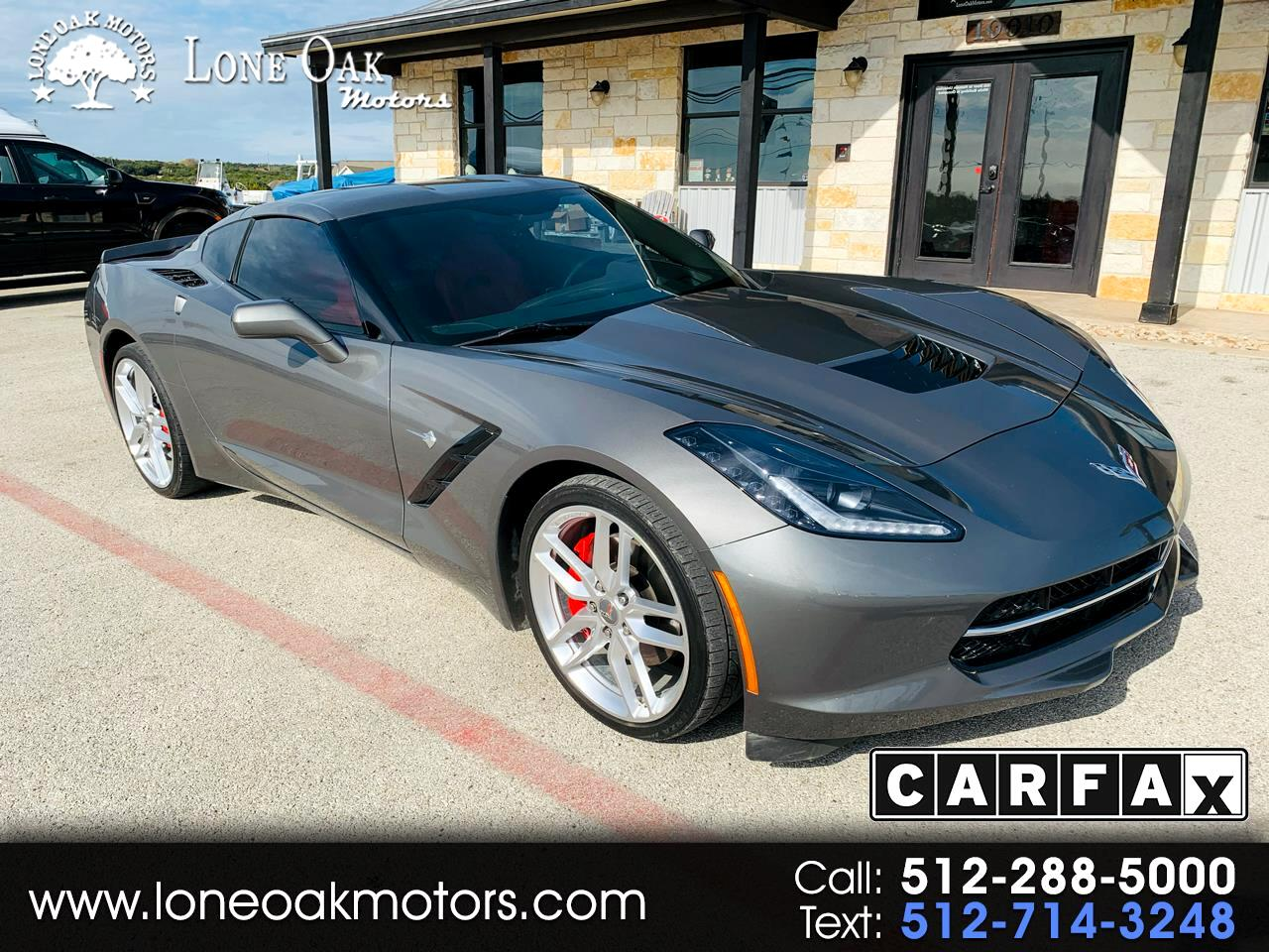 Chevrolet Corvette Stingray 2LT Coupe Automatic 2015
