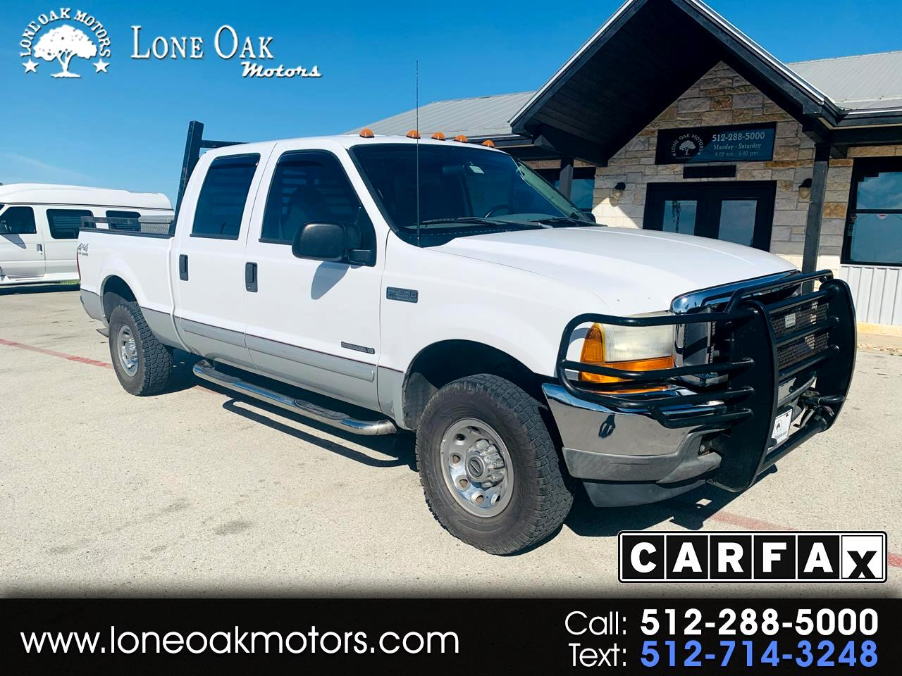 "Ford Super Duty F-250 Crew Cab 172"" XLT 4WD 2001"