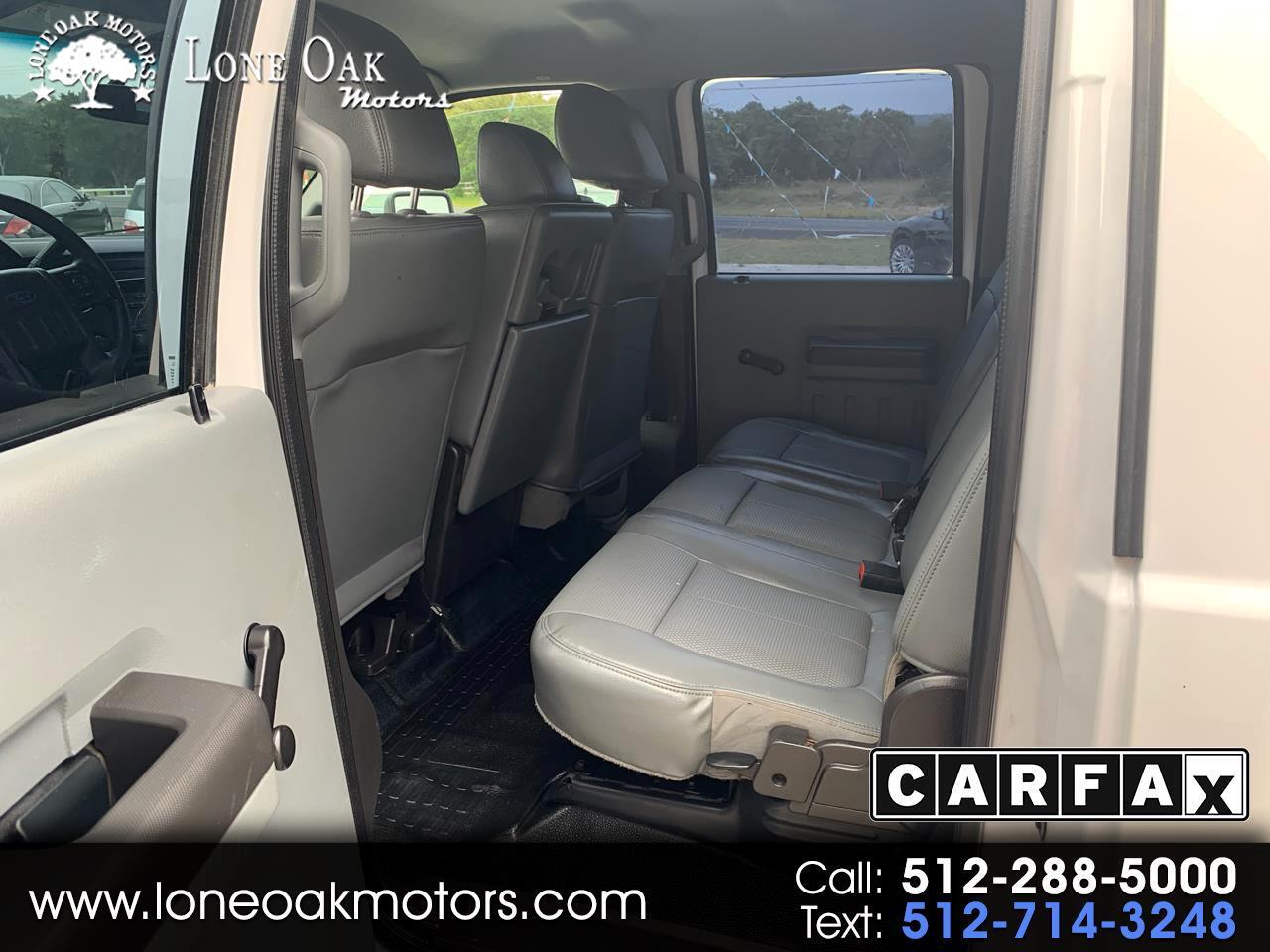 """Ford Super Duty F-350 SRW 4WD Crew Cab 172"""" XL 2013"""