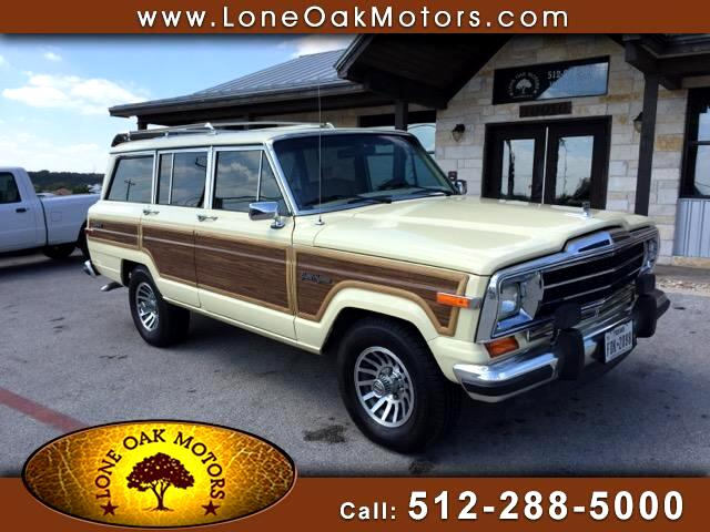 1988 Jeep Grand Wagoneer 4WD
