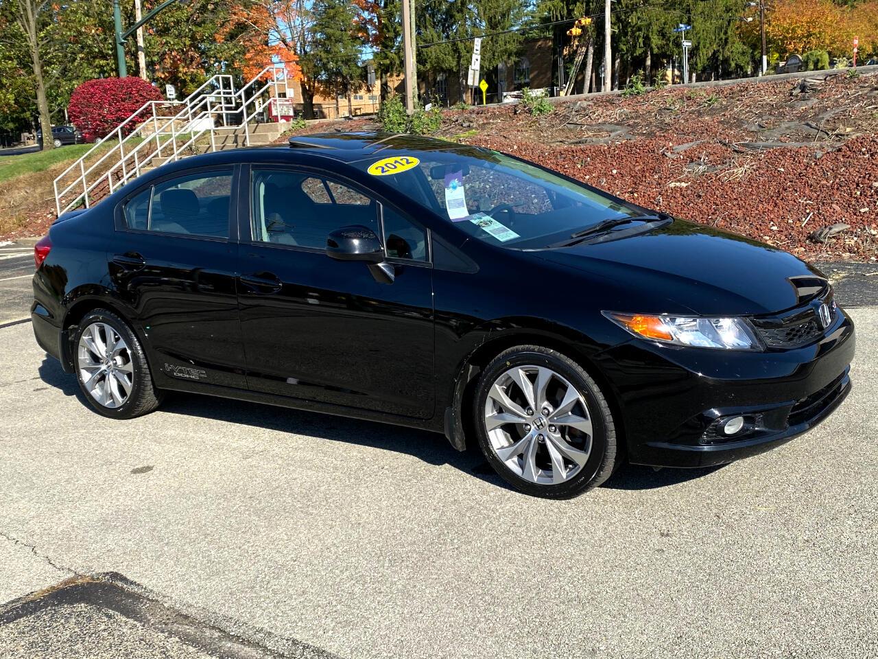 Honda Civic Si Sedan 6-Speed MT 2012