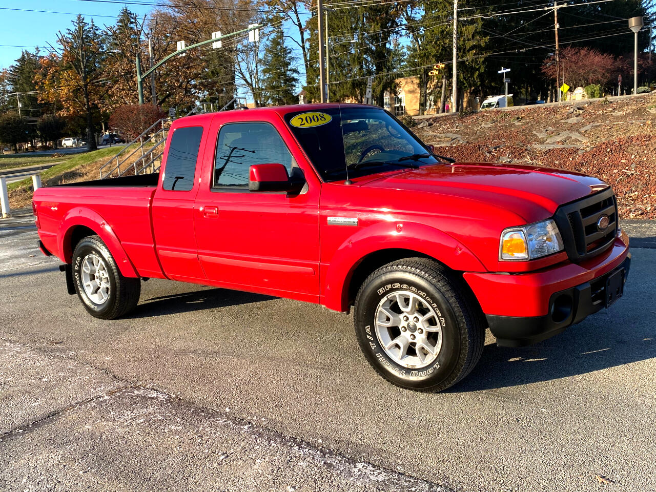 Ford Ranger Sport SuperCab 4 Door 4WD 2008