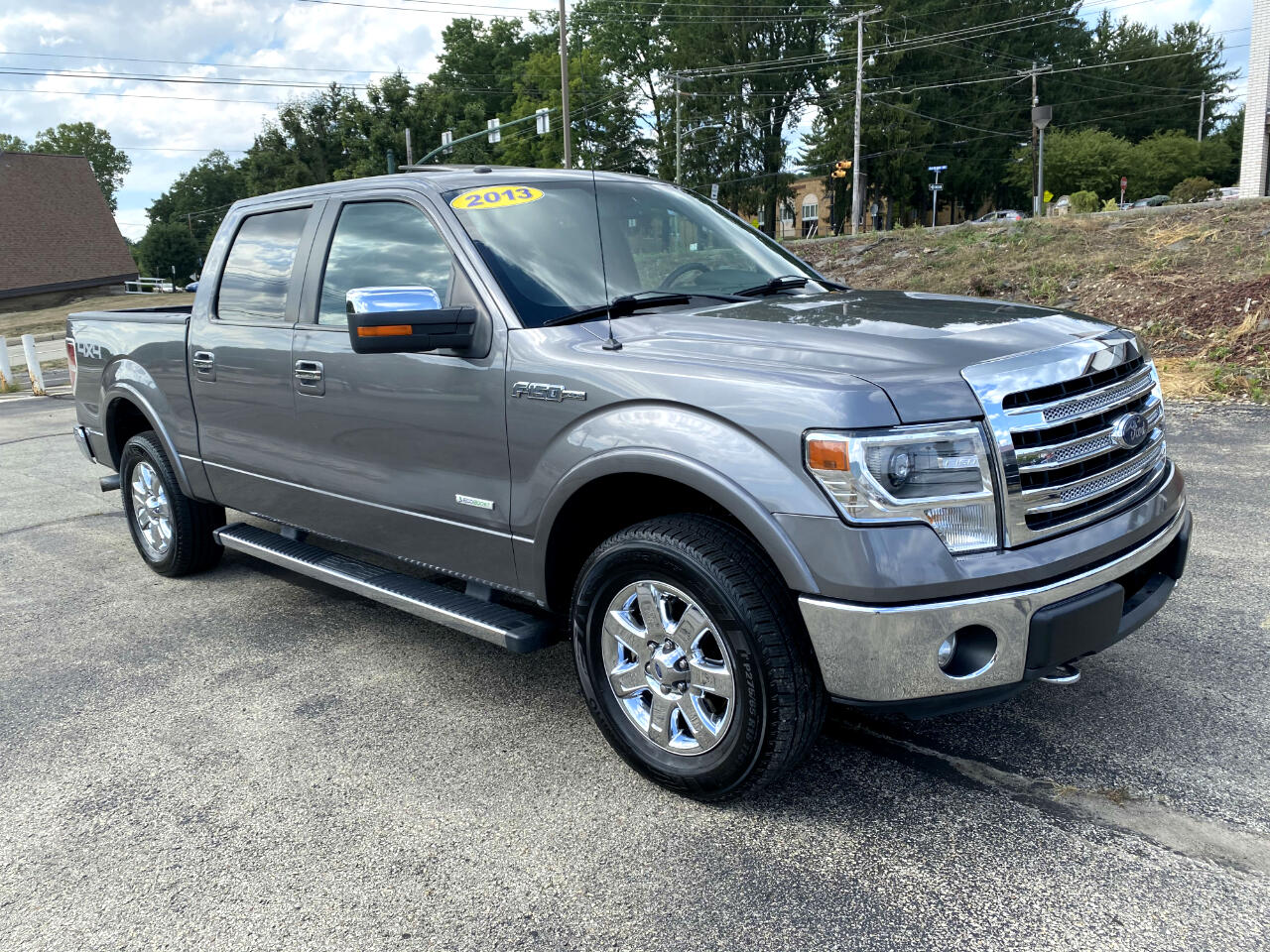 Ford F-150 Lariat SuperCrew Short Bed 4WD 2013