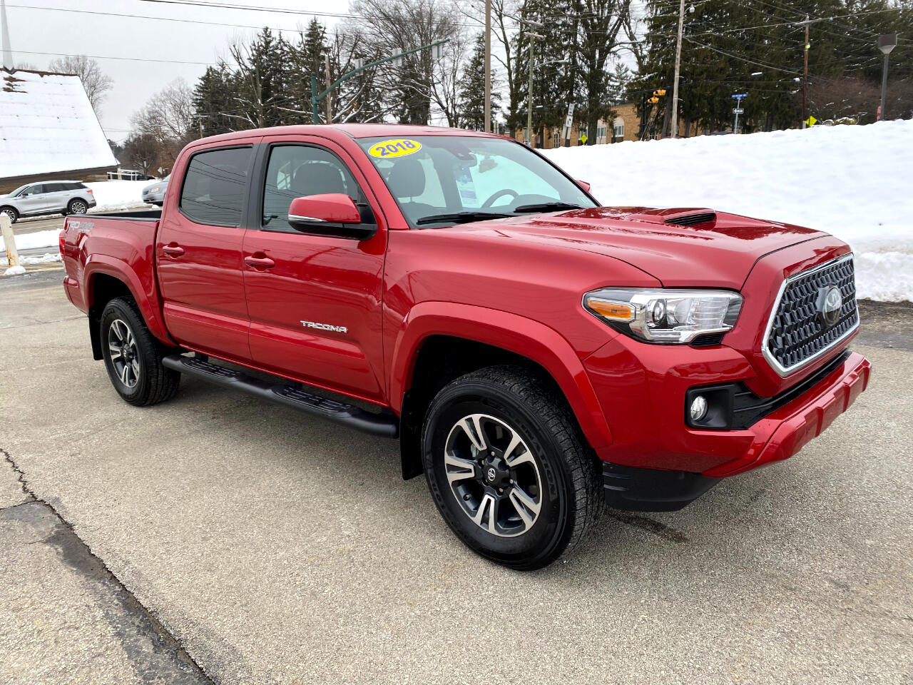 Toyota Tacoma TRD Sport Double Cab 5' Bed V6 4x4 AT (Natl) 2018