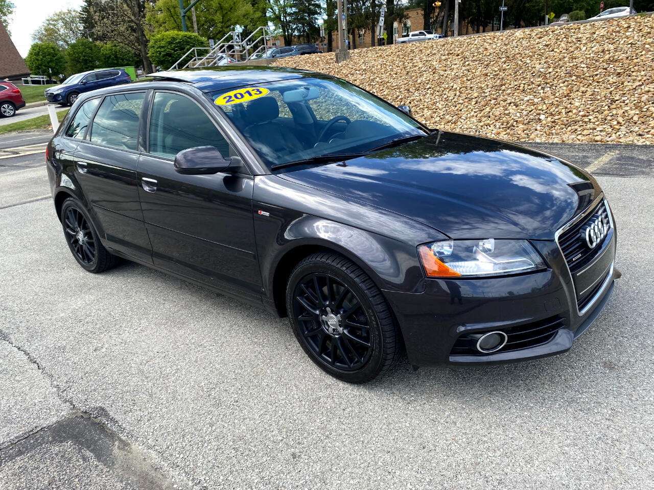 Audi A3 2.0T quattro with S tronic 2013