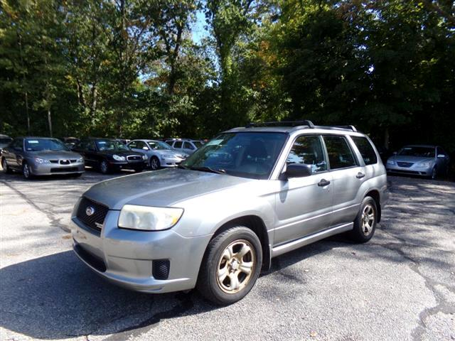 2007 Subaru Forester AWD 4dr H4 AT Sports X