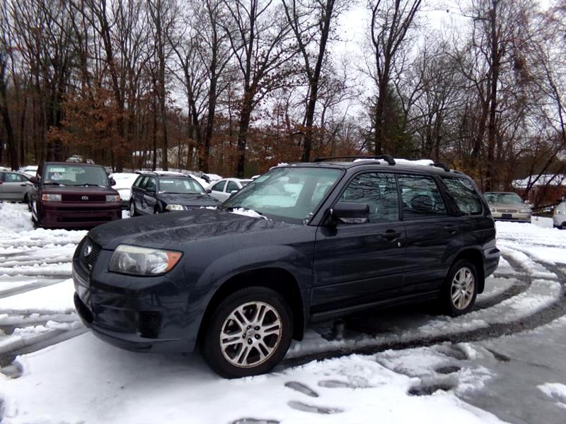 2008 Subaru Forester (Natl) 4dr Man Sports X