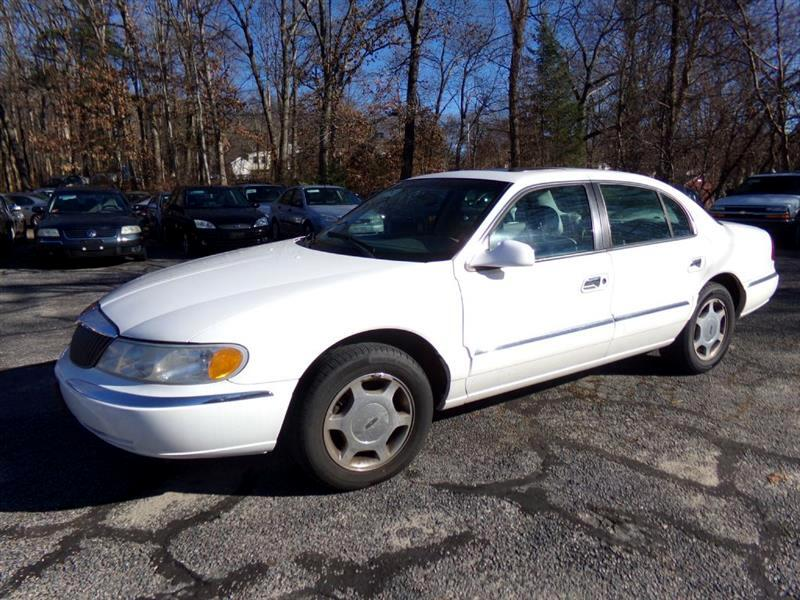 2001 Lincoln Continental 4dr Sdn