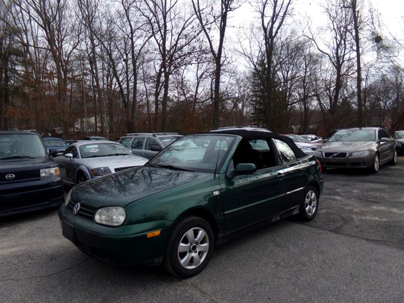 2002 Volkswagen Cabrio 2dr Conv GLX Manual