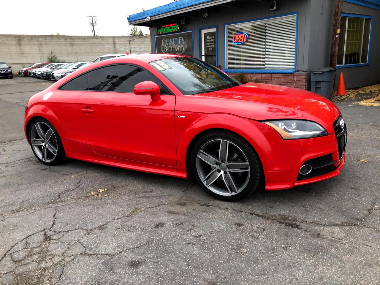 Audi TT 2dr Cpe S tronic quattro 2.0T Premium Plus 2013