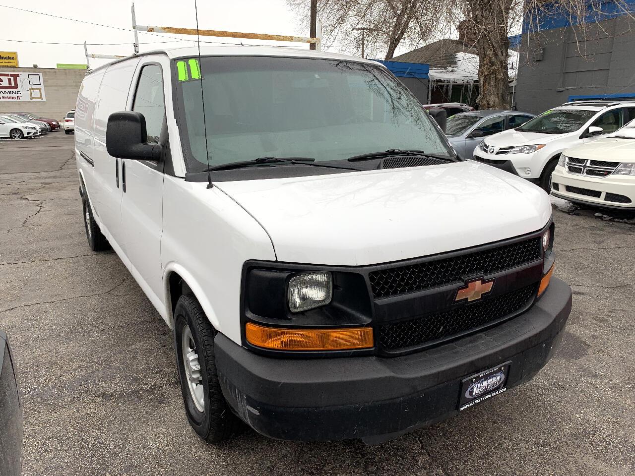 """2011 Chevrolet Express Cargo Van RWD 3500 155"""""""