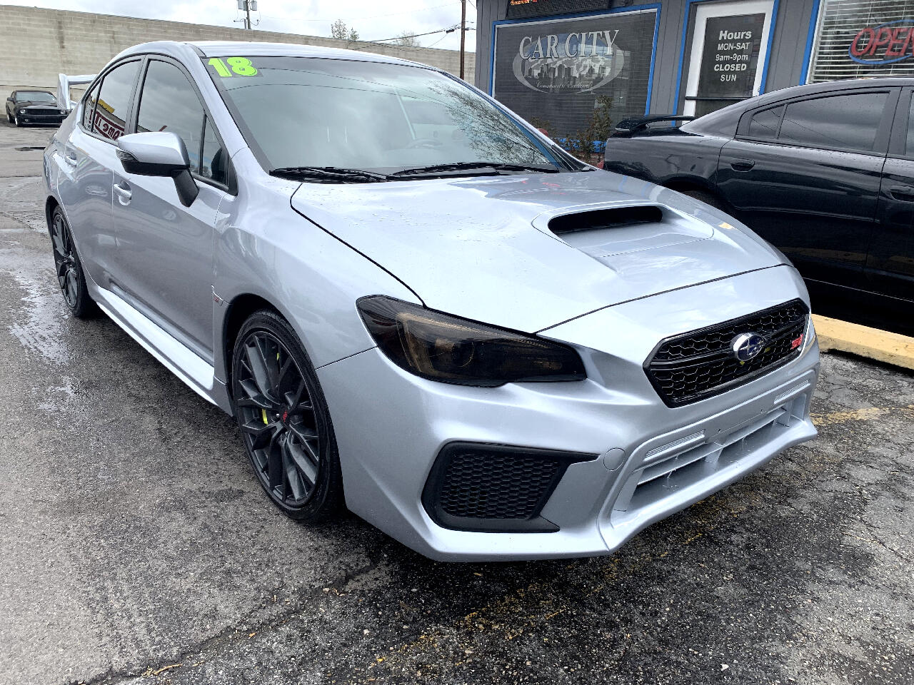 2018 Subaru WRX STI Manual