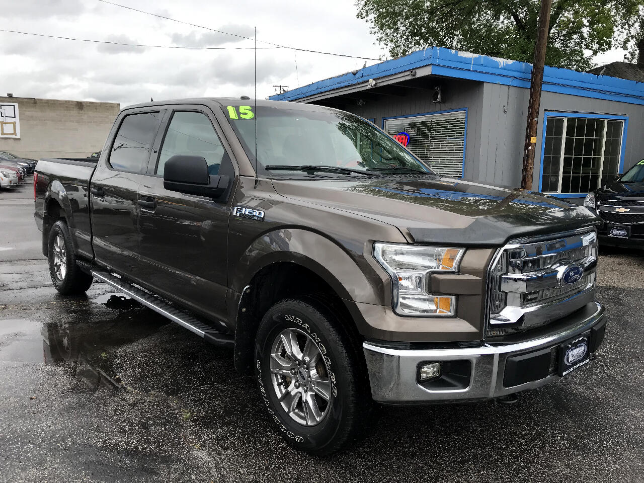 "2015 Ford F-150 4WD SuperCrew 157"" XLT"