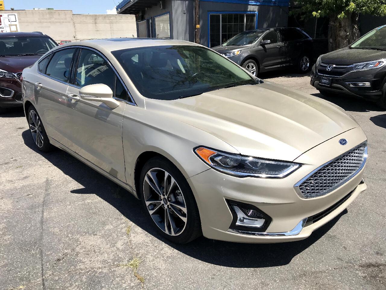 2019 Ford Fusion Titanium FWD