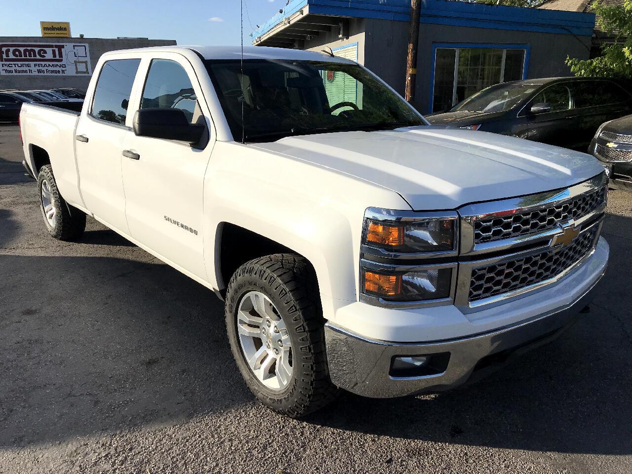 """2014 Chevrolet Silverado 1500 4WD Crew Cab 153.0"""" LT w/1LT"""