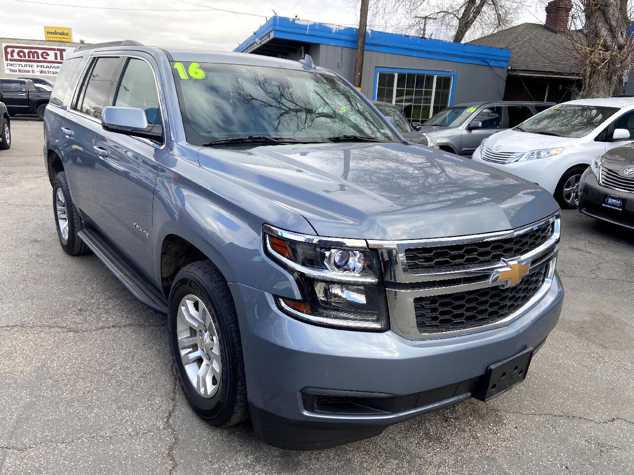 Chevrolet Tahoe 4WD 4dr LT 2016