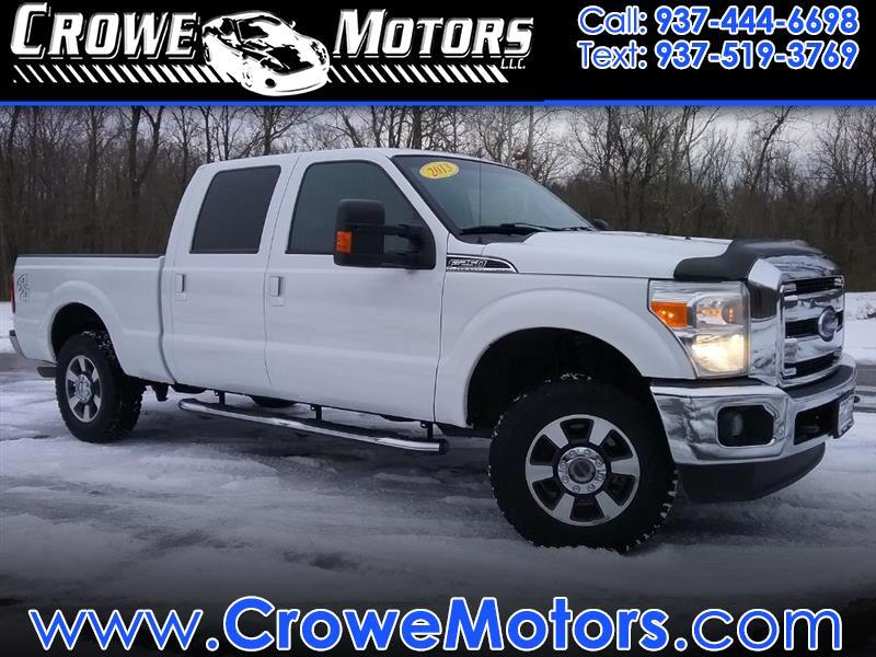 2013 Ford Super Duty F-250 SRW 4WD Crew Cab 156