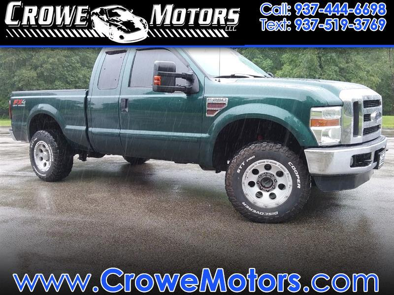 "2010 Ford Super Duty F-250 SRW 4WD SuperCab 142"" FX4"