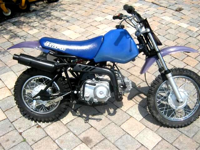 2003 Jincheng Civet 70 small cc dirt bike pit bike cool for the kids