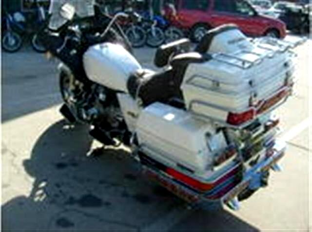 1984 Honda GL1200 Goldwing Touring Bike Full Fairings Trunk and bags