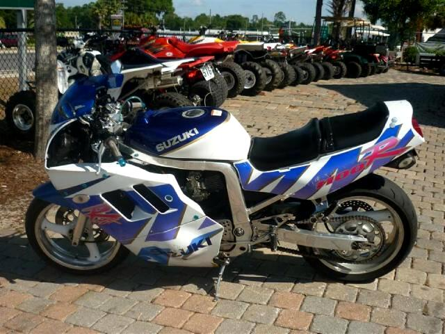 1990 Suzuki GSX-R1100 Original Survivor