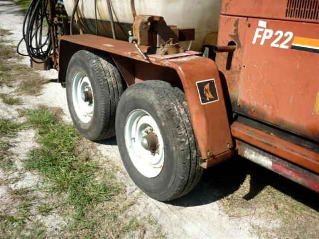 1992 Ditch Witch FP22 Directional Drill with generator mixer and trailer