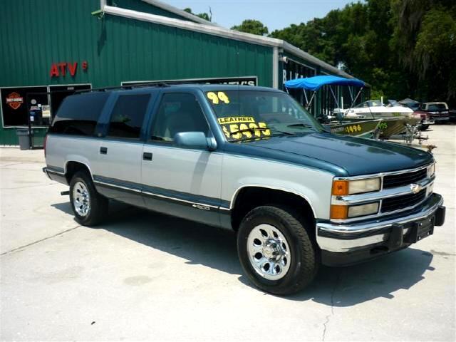 1994 Chevrolet Suburban K1500 4WD Newer Chrome Wheels nice leather interio
