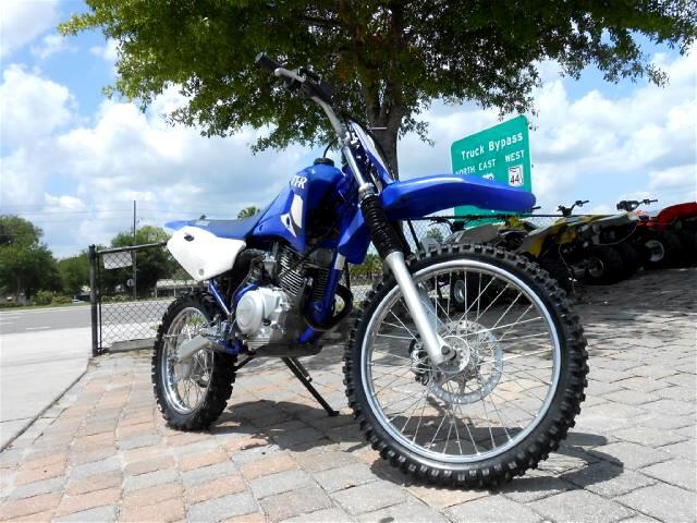 2002 Yamaha TTR125 4 stroke dirt bike runs great