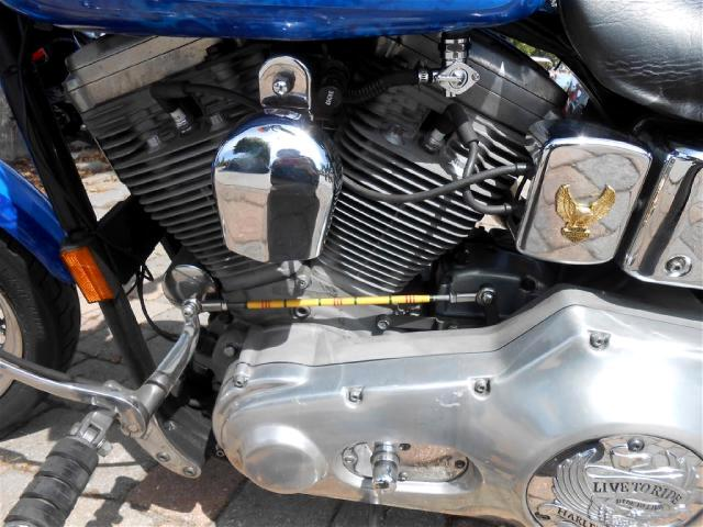 1998 Harley-Davidson FXD Dyna Super Glide with drag pipes runs good